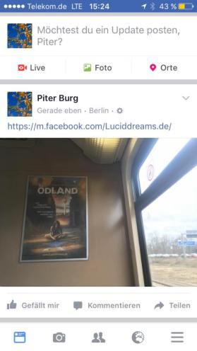 18-03-09 Piter Burg Sichtung ÖDLAND-Poster