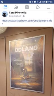 18-03-14 Cara Phernelia Sichtung ÖDLAND-Poster